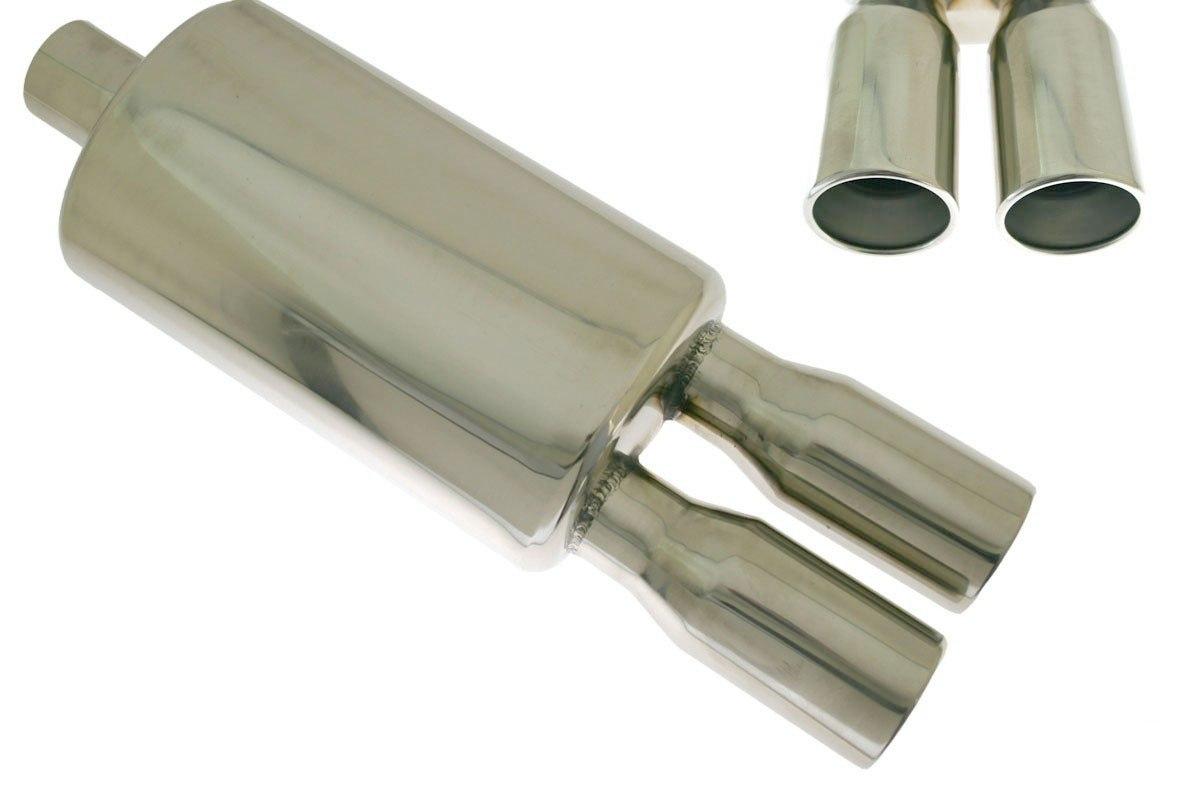 Tłumik Końcowy TurboWorks 2x76mm wejście 63,5mm